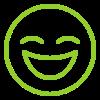 усмихнато лице иконка