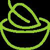 здравословна храна иконка